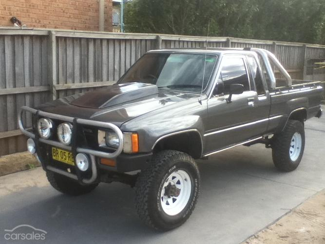 1985 Toyota Hilux 4x4 For Sale