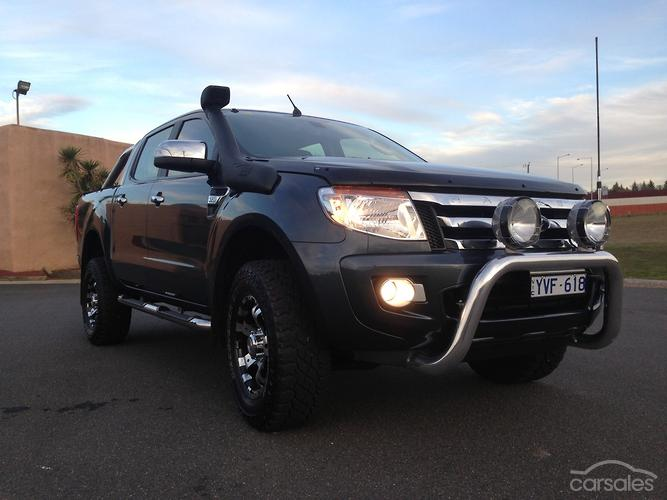 2012 ford ranger xl px manual 4x4