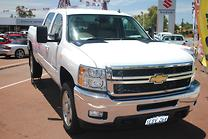 2012 CHEVROLET SILVERADO 2500HD CREW CAB STD BOX LTZ
