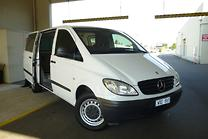 2008 MERCEDES VITO 639 MY08 111CDI CREW CAB LOW ROOF EXTRA LONG