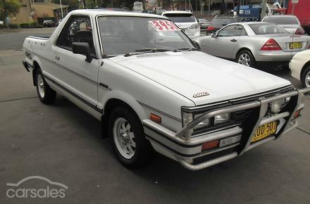 1990 subaru brumby for Subaru motors finance payments