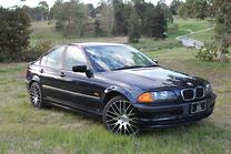 2001 BMW 318i E46 STEPTRONIC