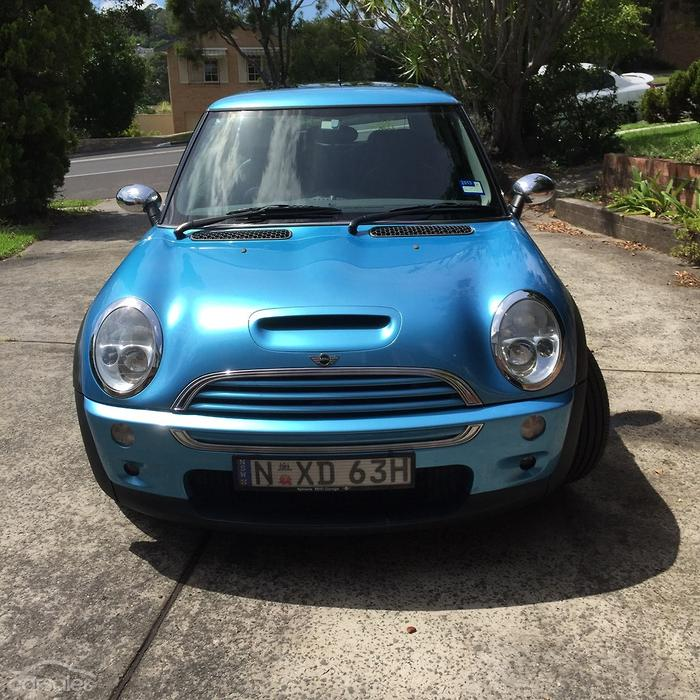This Mini Cooper S is for sale right now