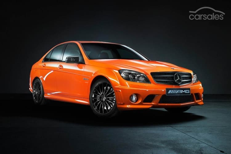 Image: 1 Off 2010 Mercedes Benz C63 AMG Edition 63 Orange For Sale $210,000