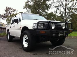 1996 HOLDEN RODEO TF G6 LX CREW CAB