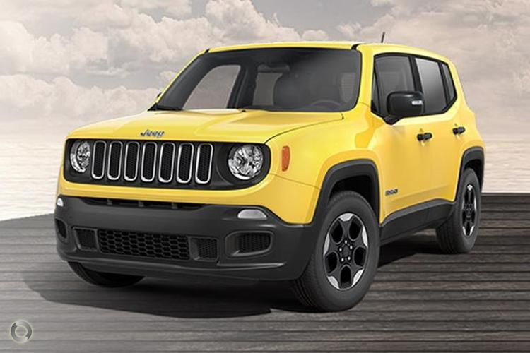 2016 Jeep Renegade Sport Manual MY16