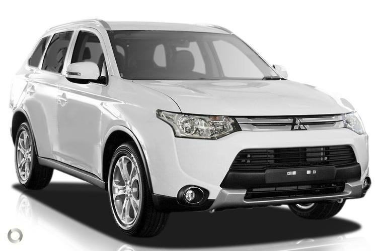 2014 Mitsubishi Outlander ZJ LS MY14.5 Constantly Variable Transmission 2WD