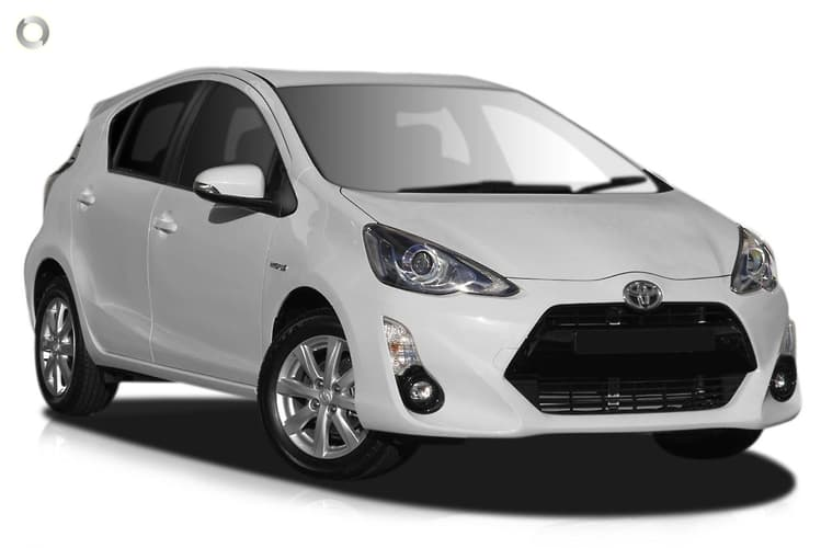 2016 Toyota Prius C NHP10R i-Tech Electronically Controlled CVT (Dec. 2014)