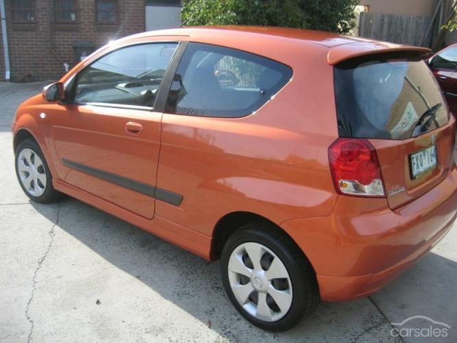 2005 Holden TK Barina Hatch 3-door PICTURES