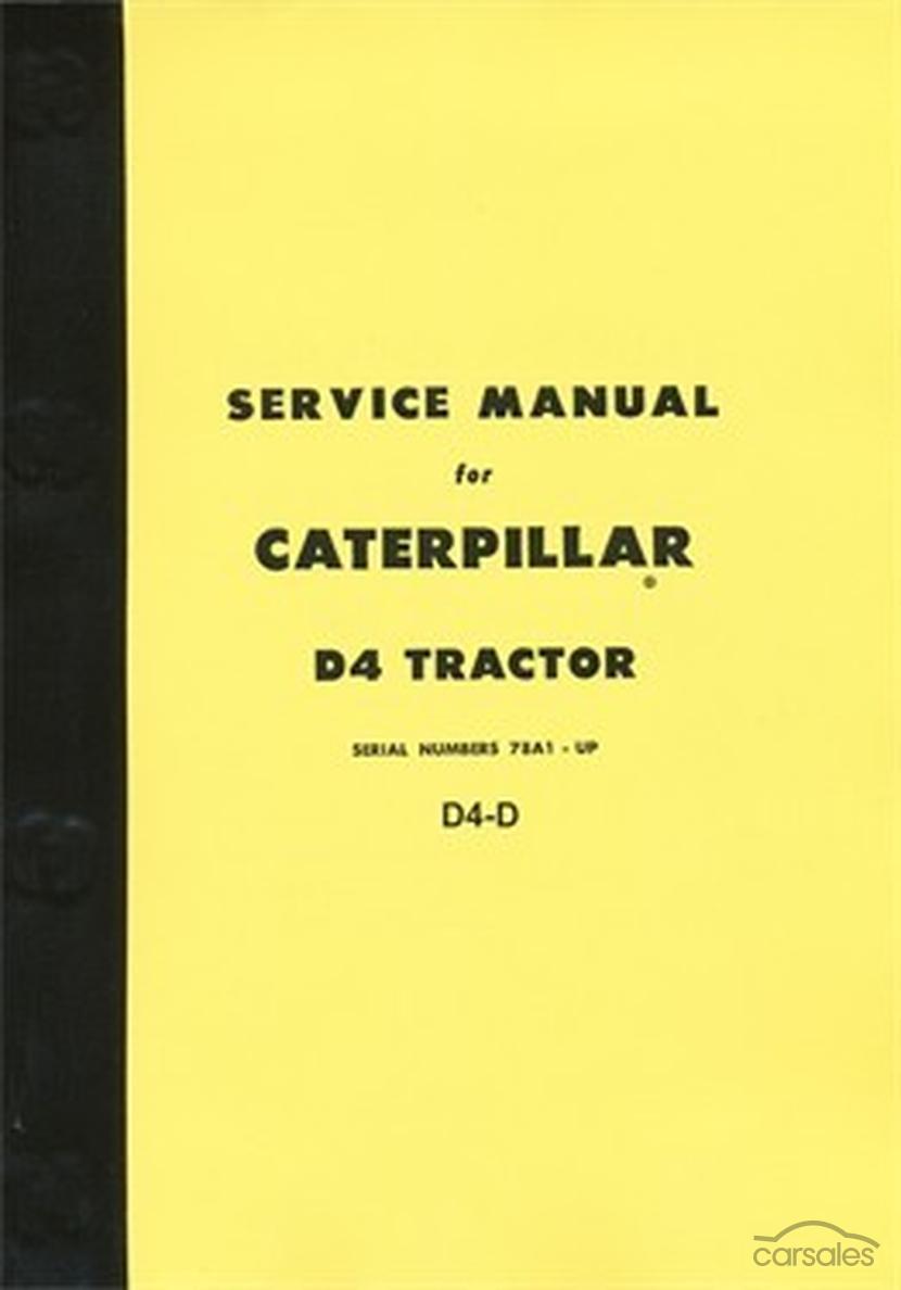 caterpillar d4d workshop manual. Black Bedroom Furniture Sets. Home Design Ideas