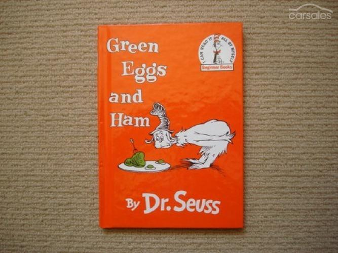 book report on green eggs and ham