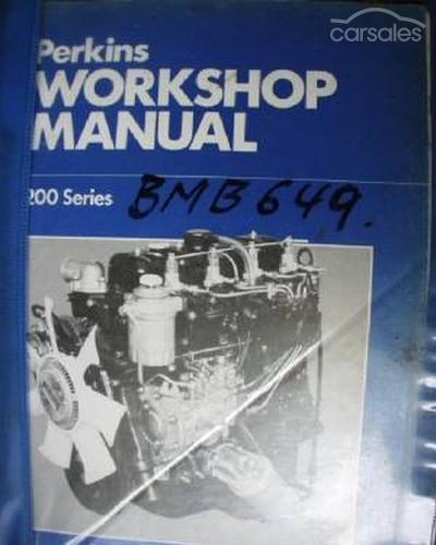 perkins workshop manual for 200 series engine c 1982
