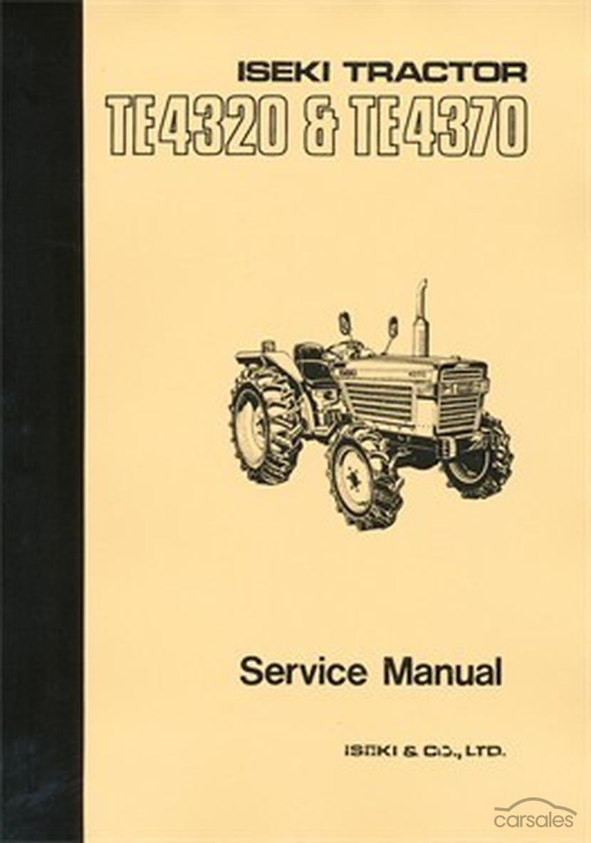 All About Vintage Tractor Parts Amp Manuals Nz Australia Iseki Engine Diagram Te4320 Te4370 Workshop Manual